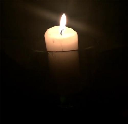 عزاداری محمدرضا گلزار در شب تولدش