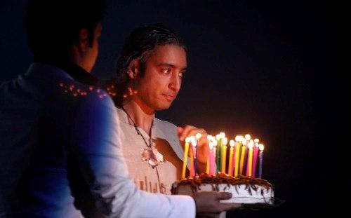 جشن تولد مازیار فلاحی