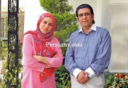 عکس و گفتگو با رضا رشیدپور و همسرش