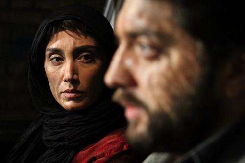 مهران مدیری، هدیه تهرانی، بهرام رادان و مهناز افشار در «پل چوبی» / گزارش تصویری