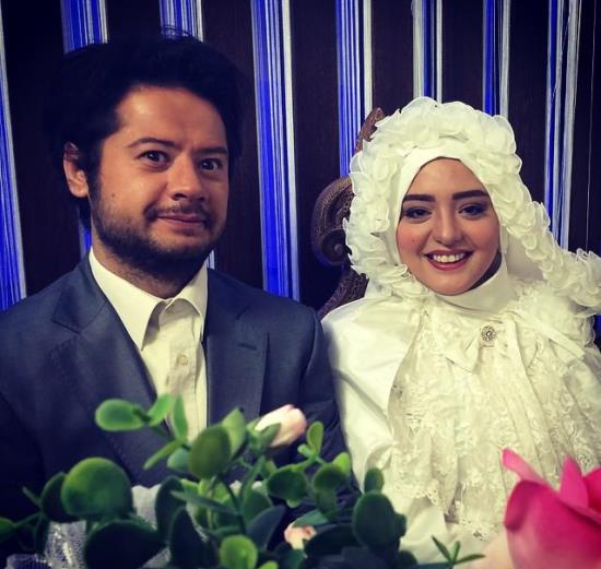 نرگس محمدی در لباس عروس