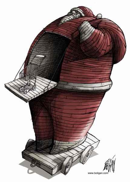 کاریکاتورهای زیبا و طنز آمیز از آنجل بولیگان