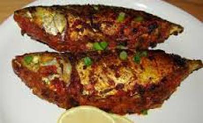 طرز تهیه یک نوع ماهی با فلفل قرمز و سبز(سنگالی)