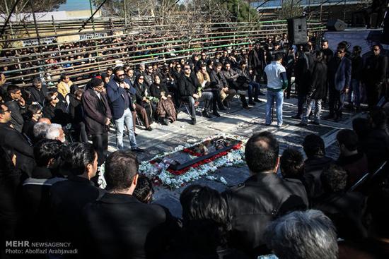 گرامیداشت چهلمین روز درگذشت مرتضی پاشایی در بهشت زهرا(س)