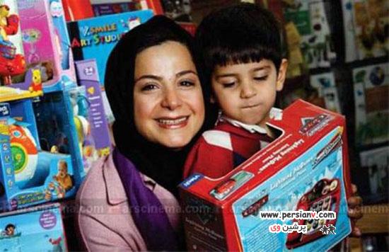 بازیگران مشهور ایرانی و فرزند پسرشان ! (2)  تصاویر
