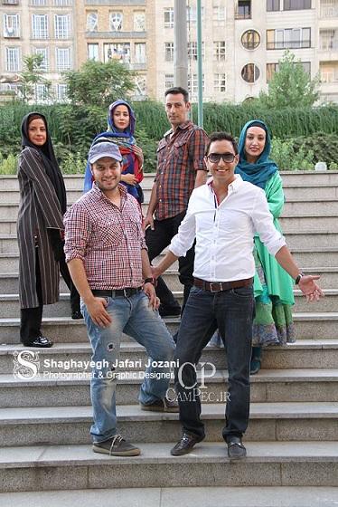 تصاویر:الناز حبیبی و همسرش و بازیگران دودکش