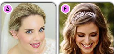 مدل مو بسیار زیبا برای زیبا ترین عروسهای زمستانی تصاویر