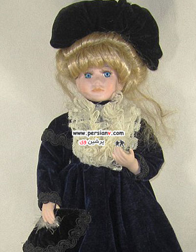 تغییر شکل جالب یک دختر ژاپنی به یک عروسک