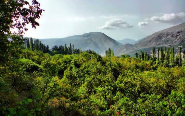 جلوهای شگفتانگیز طبیعت راددر روستای زیبا و دیدنی کندلوس ببینید