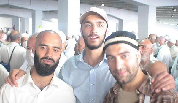 عکس دیدنی از مجید صالحی و رضا هلالی در مکه