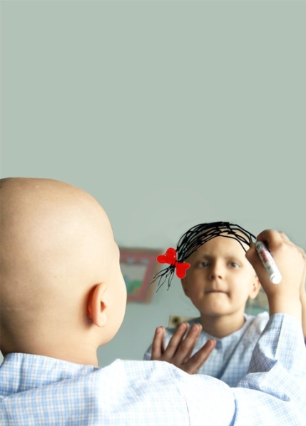 دختر سرطانی: عکس را آدم های بدون احساس نبینند!