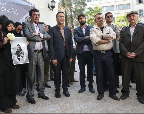 مراسم تشییع پیکر ثریا حکمت با حضور هنرمندان و بازیگران مشهور
