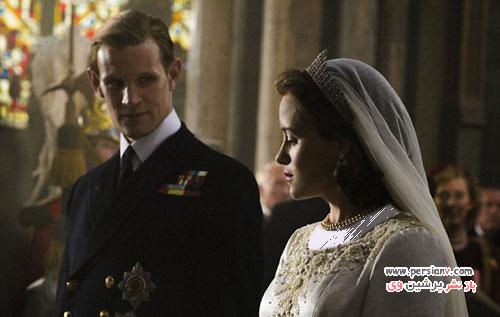 لباس عروسی خیره کننده برازنده یک ملکه قلابی