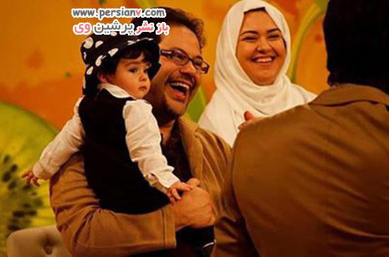 محمد رضا حسینیان و همسر و فرزندانش