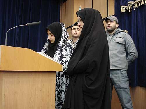تصاویر: اعدام مهین قدیری قاتل سریالی زنان در قزوین