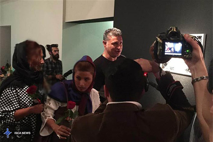 حضور بازیگران مشهور در مراسم افتتاحیه گالری عکس تهمینه میلانی