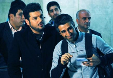 همبازی شدن پژمان جمشیدی با مجری ممنوعالتصویر تلویزیون