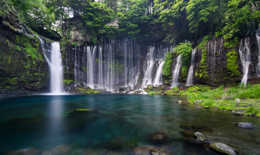صربه فردترین و برترین عجایب طبیعی ژاپن