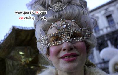 تصاویر زنان شرکت کننده در کارناوال ونیز