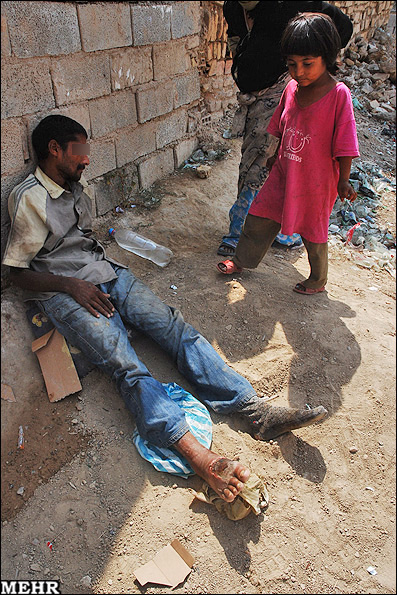 عکسهای ناراحت کننده : بازی با مرگ در قلعه خندان گرگان