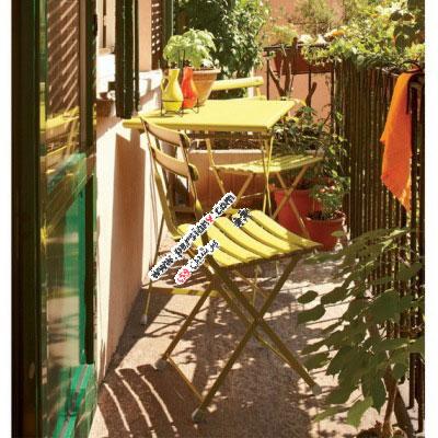 ایده هایی جالب و مبتکرانه برای استفاده از تراس آپارتمان ها(عکس)