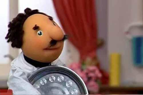 دیالوگ های بامزه عروسک «عزیزم ببخشید» در مجموعه کلاه قرمزی