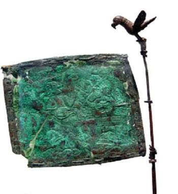 کشف قدیمی ترین پرچم جهان در ایران تصاویر