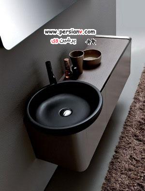 مدرن ترین مدل های سینک دستشویی !!( عکس)