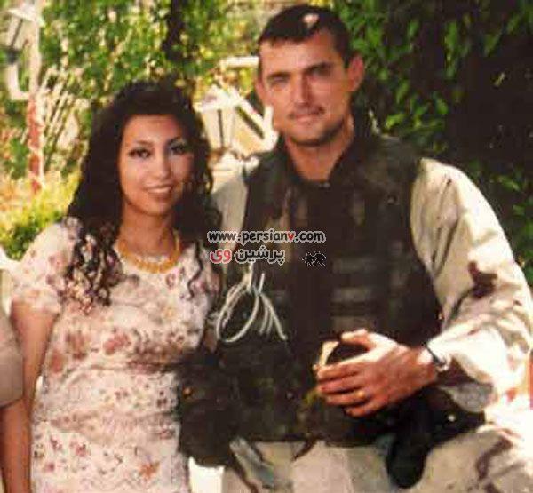 عکس دیدنی و عجیب : ازدواج یک سرباز امریکایی با دختــــر عراقی