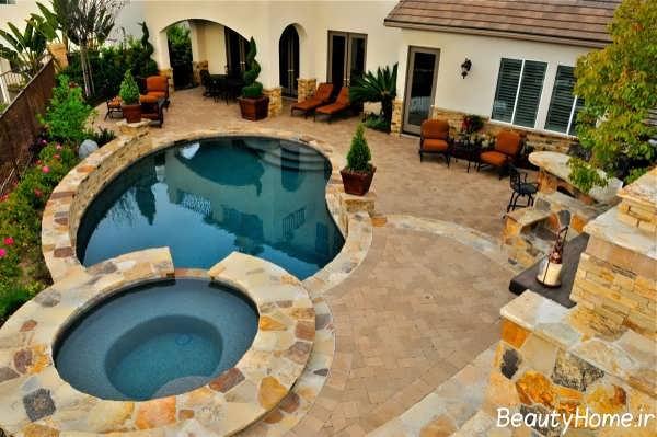 حیاط خلوتهای دنج و زیبایی که فضای خانه را پر از آرامش می کند
