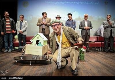 بازیگران سریال پایتخت 3 در مراسم تجلیل از بازیگران