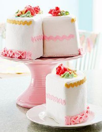 تکه کیک پارچه ای