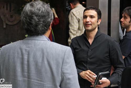 محمد رضا فروتن در اکران خصوصی فیلم تجریش ناتمام
