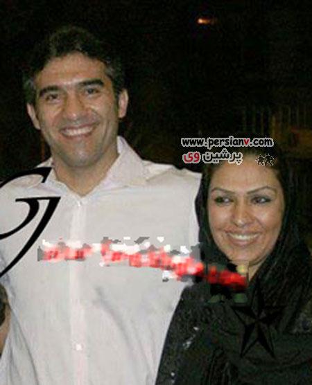 فوتبالیست های مشهور ایرانی به همراه همسرانشان