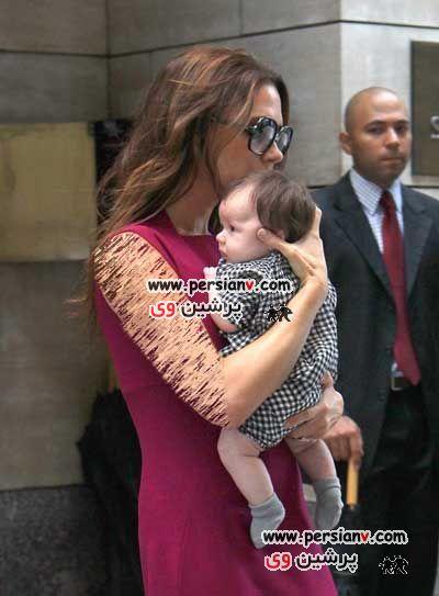 عکسهای جدید از ویکتوریا بکام و دخترش !
