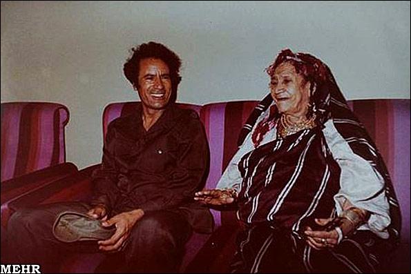 عکسهای نادر از روزهای خوش دیکتاتور لیبی