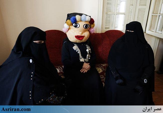 صحنه جالب برنامه کودک شبکه تلویزیونی زنان نقاب دار مصر عکس
