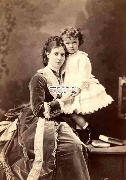 لباس عجیب پسربچهها در قرن 19 عکس