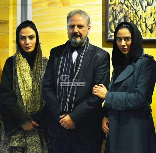 عکسی متفاوت از مارال فرجاد در کنار پدر و مادرش