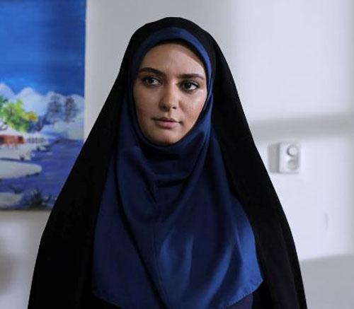پژمان جمشیدی، عاطفه رضوی و لیندا کیانی در یک سریال