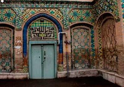 مسجد خانم» بنای هفتاد ساله قاجاری که فراموش شده است تصاویر