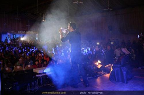 بنیامین در کنسرت یادبود «نیما وارسته»