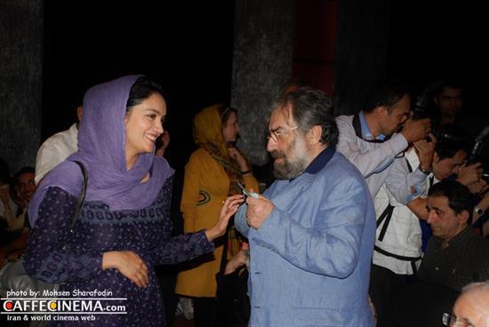 عکسهای دیدار شب گذشته میترا حجار و مسعود کیمیایی بعد از 15 سال