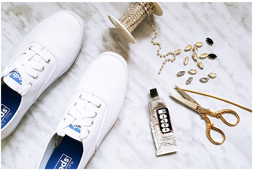 تزئین کفش