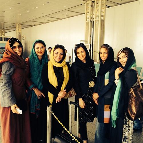 بازیگران و هنرمندان در جشنواره فیلم اربیل