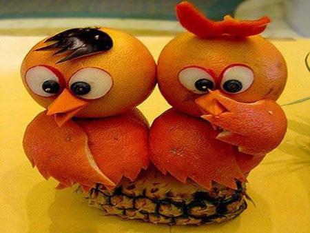 مدل تزیین پرتقال