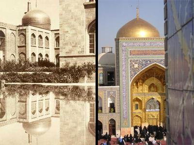 حرم امام رضا(ع) در طول تاریخ ( عکس)