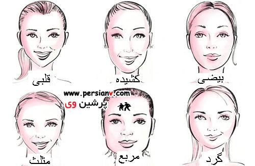 مدلهای مناسب لباس برای صورتهای کشیده عکس