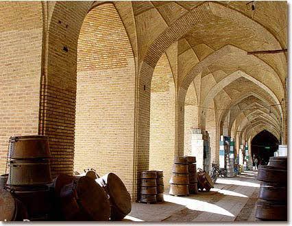 بازار زیبای کرمان