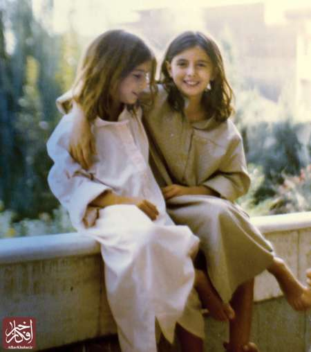 تصاویری از کودکی لیلا حاتمی و لیلی رشیدی در کنار هم